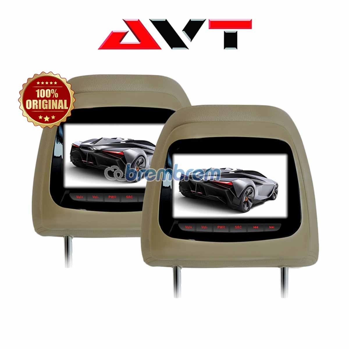 AVT HM 7188 FOR PAJERO SPORT - HEADREST OEM