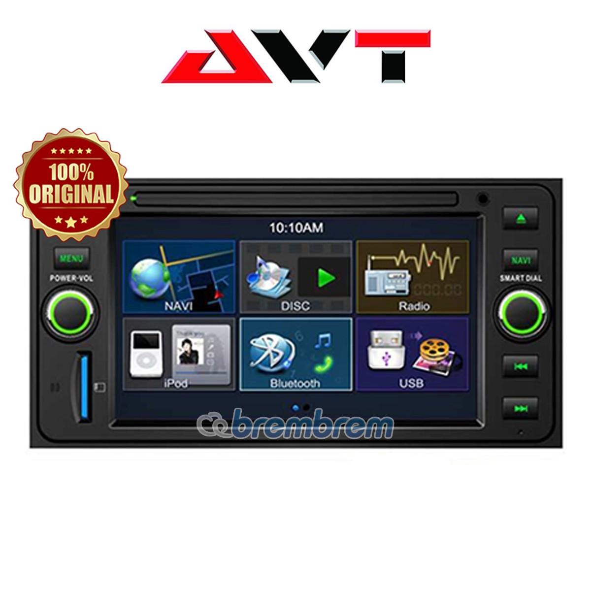 AVT SD 6809G FOR TOYOTA - HEADUNIT OEM (PREORDER)