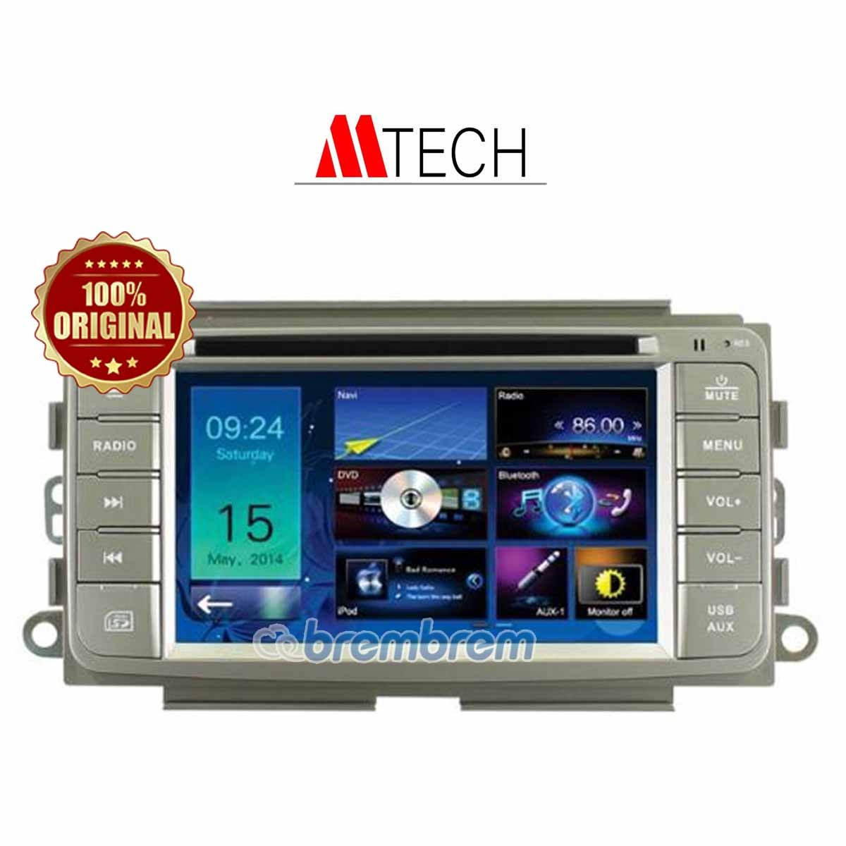 MTECH TOYOTA AGYA - HEAD UNIT OEM