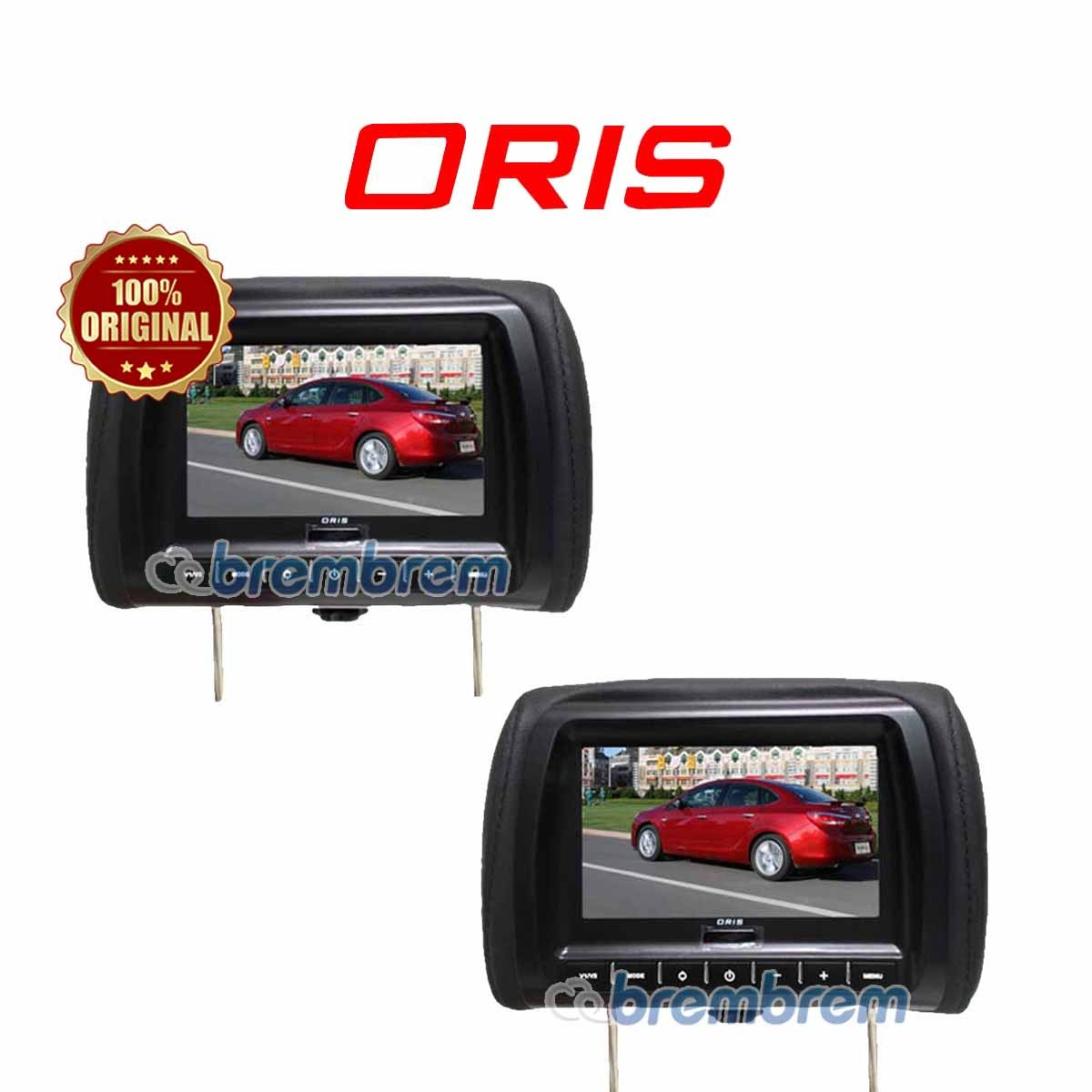ORIS MTP 7100 BLACK - HEADREST MONITOR