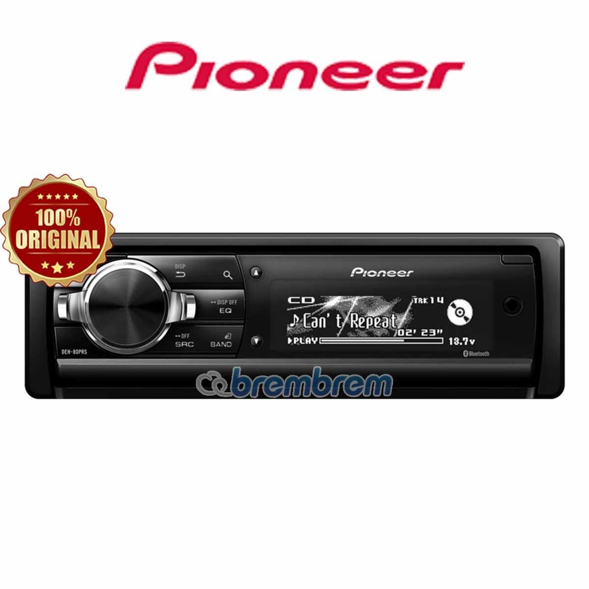 PIONEER DEH 80PRS - HEADUNIT SINGLE DIN