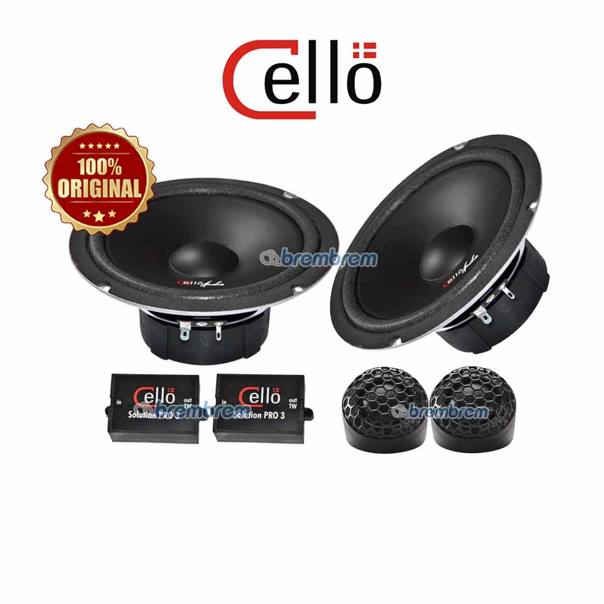CELLO SOLUTION PRO 3 - SPEAKER 2 WAY