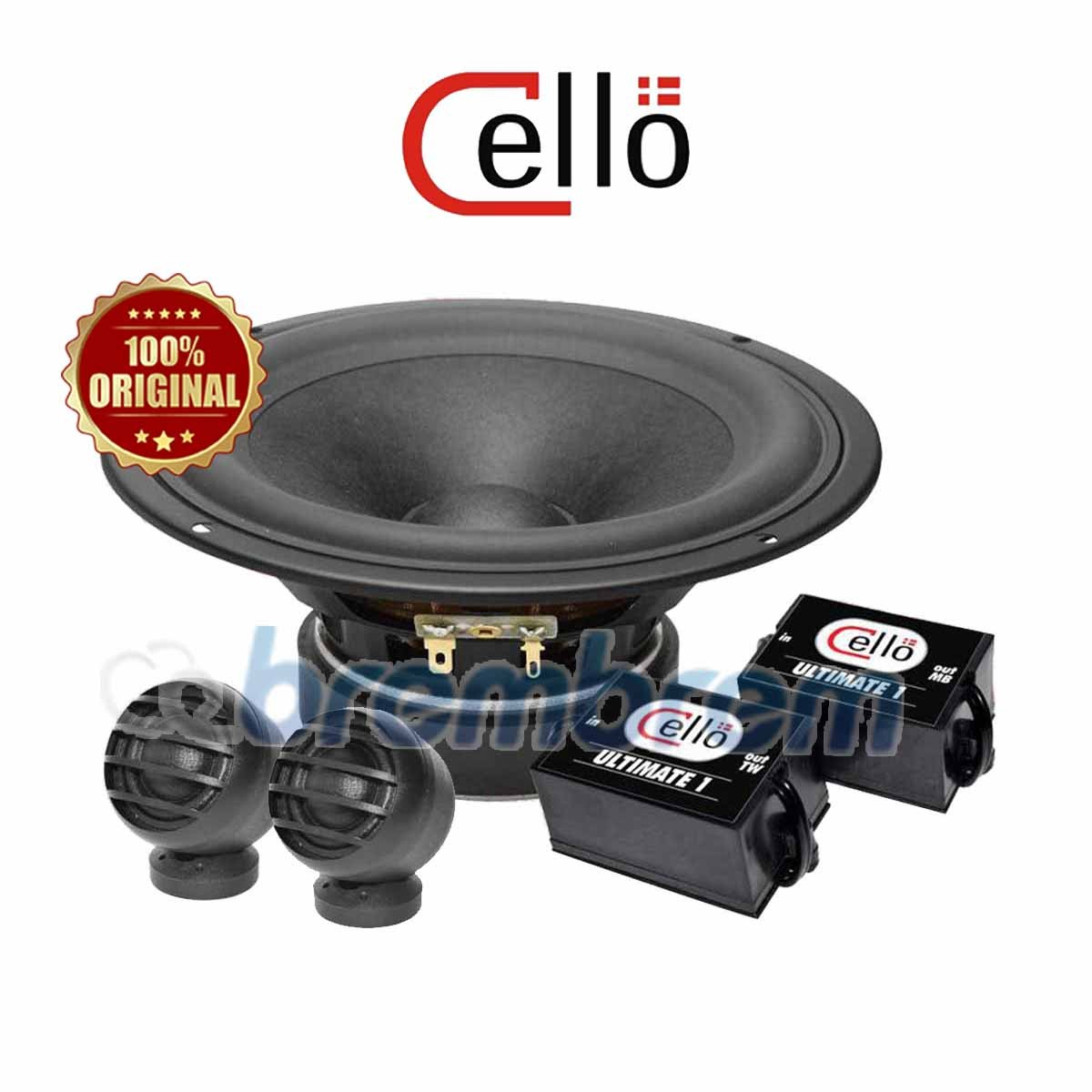 CELLO ULTIMATE 1 NEW - SPEAKER 2 WAY