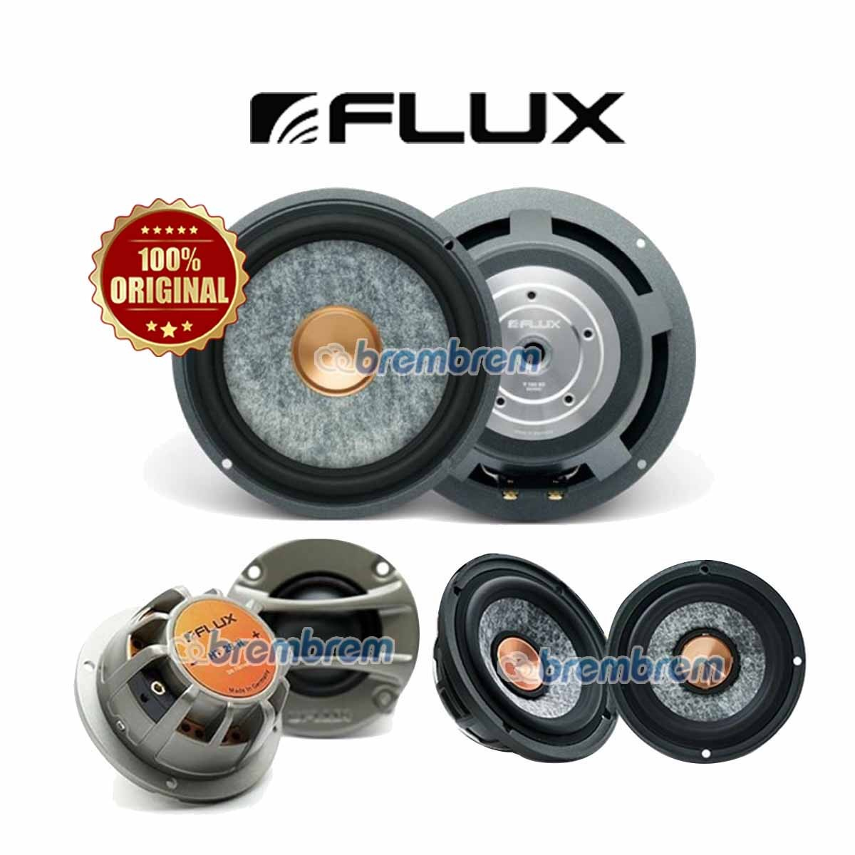 FLUX RC 370 - SPEAKER 3 WAY