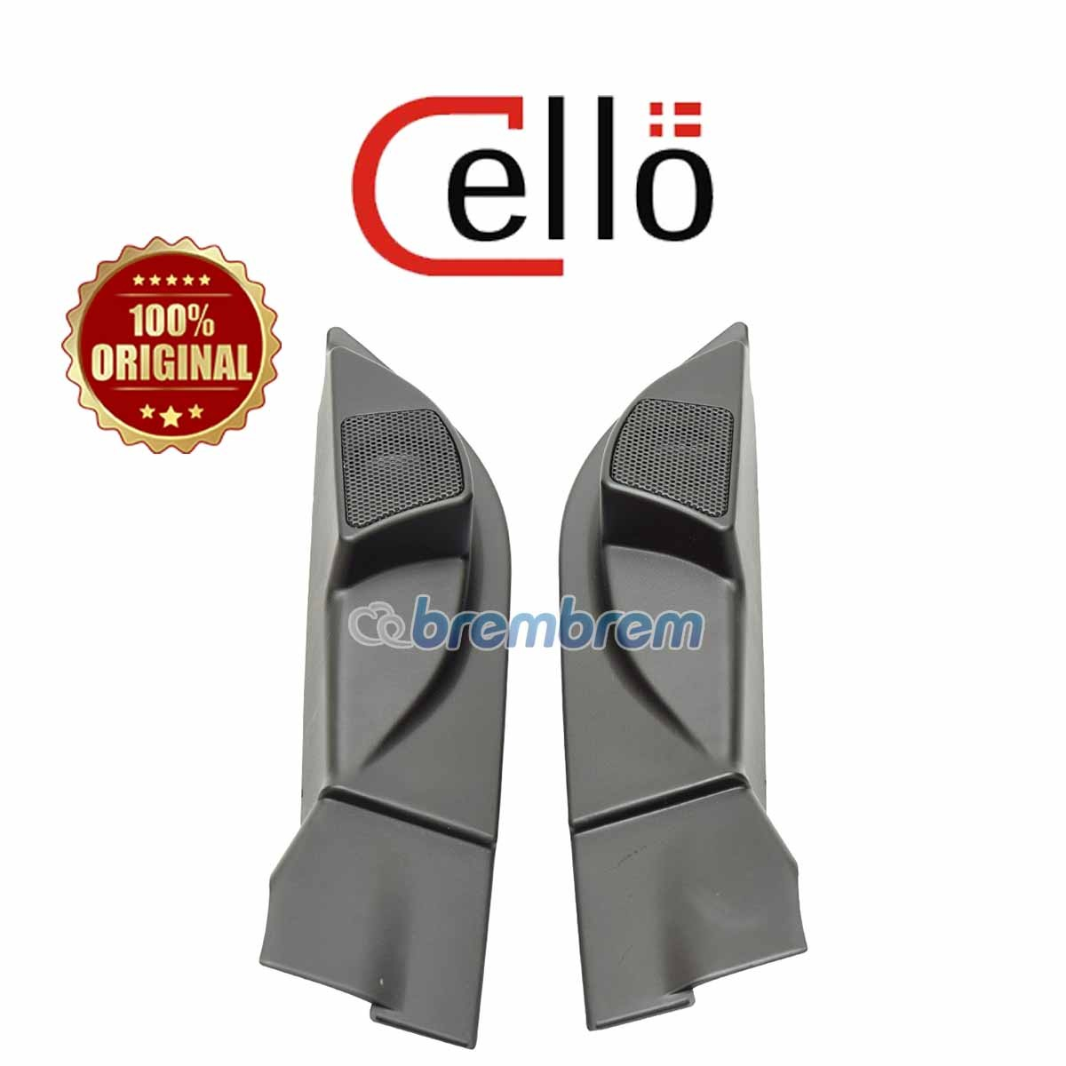 CELLO SOLUTION FIT TOYOTA AGYA 2014 NOW - TWEETER FULL RANGE
