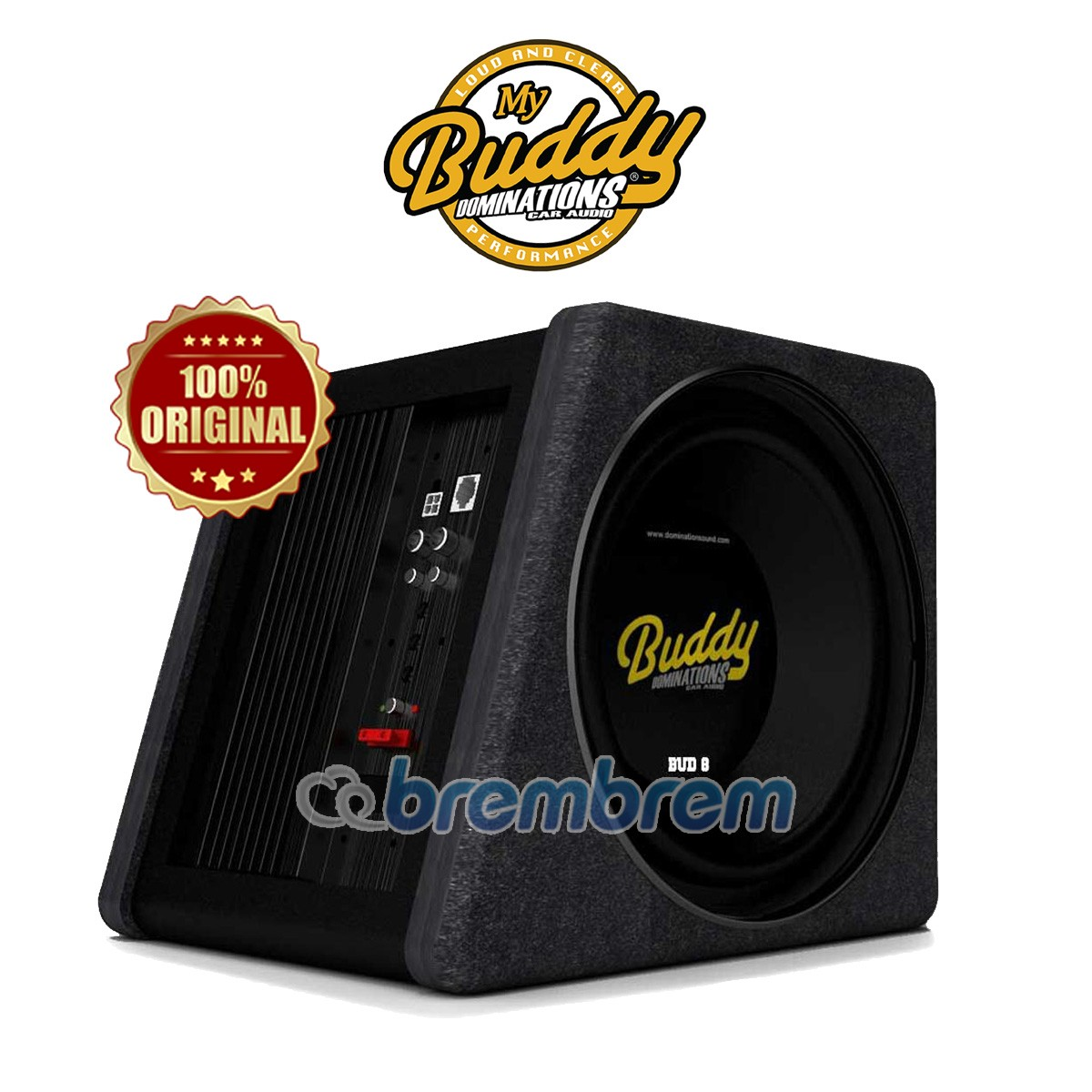 DOMINATIONS BUD 8 - SUBWOOFER AKTIF