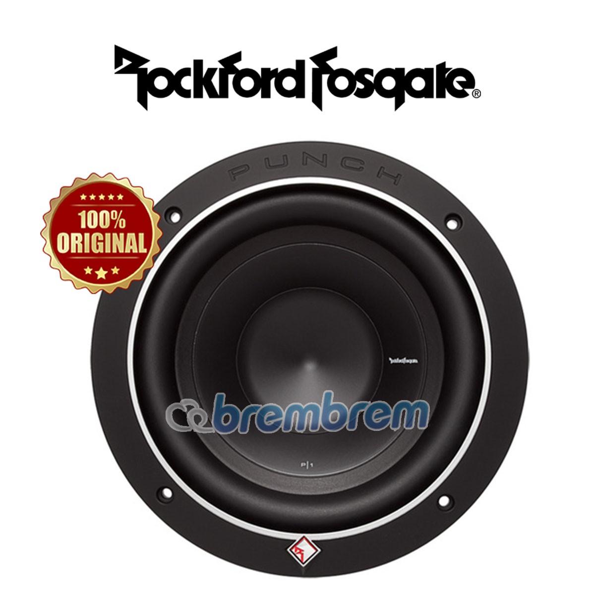 ROCKFORD FOSGATE P1S4-8 - SUBWOOFER PASIF
