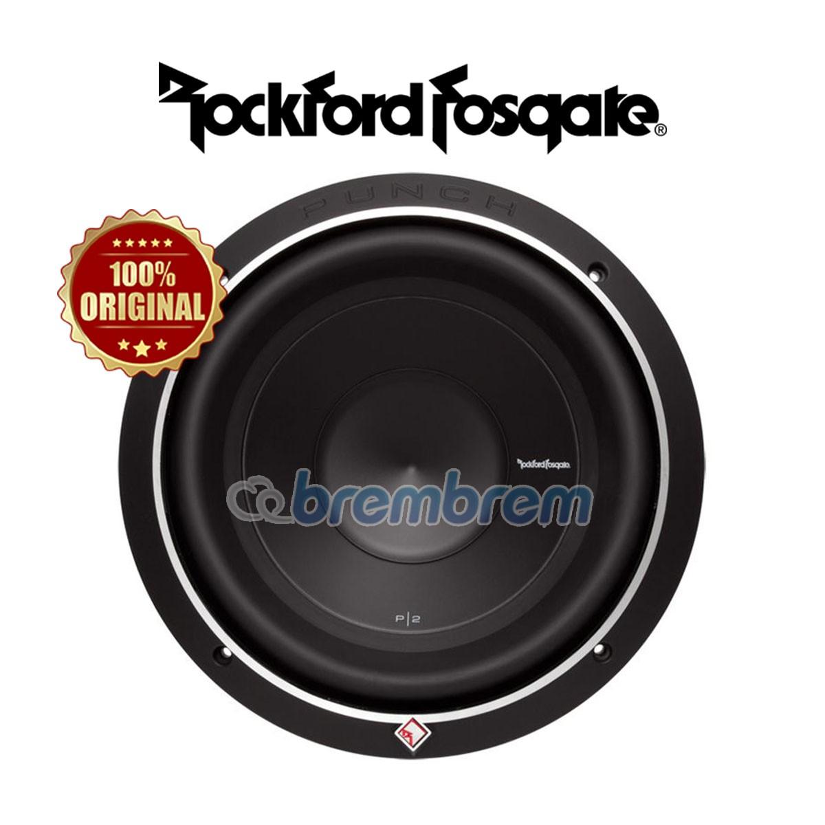 ROCKFORD FOSGATE P2D4-10 - SUBWOOFER PASIF