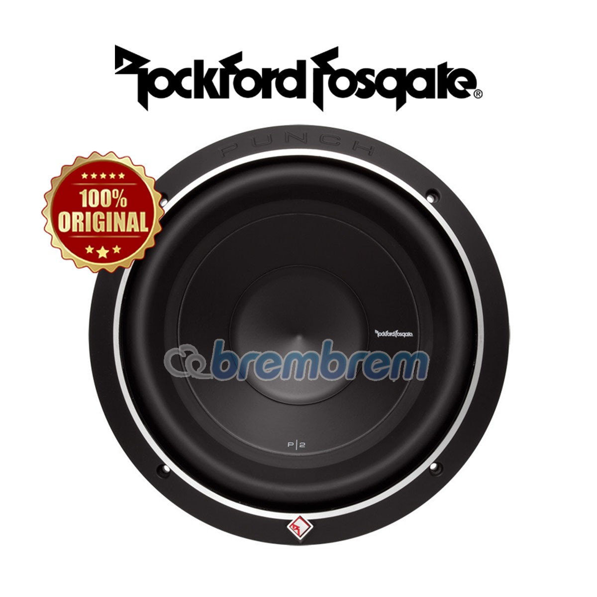 ROCKFORD FOSGATE P2D4-15 - SUBWOOFER PASIF (PREORDER)