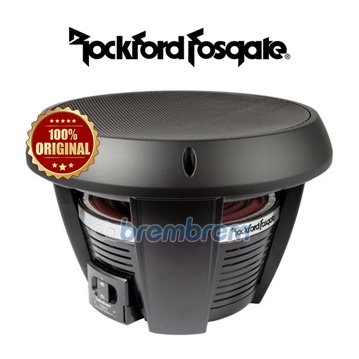 ROCKFORD FOSGATE T1D2-12 - SUBWOOFER PASIF