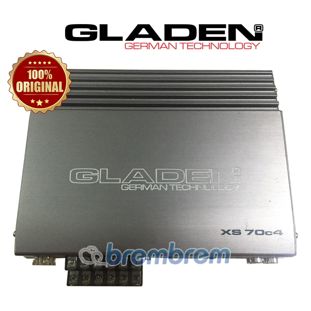 GLADEN XS70C4 - POWER 4 CHANNEL