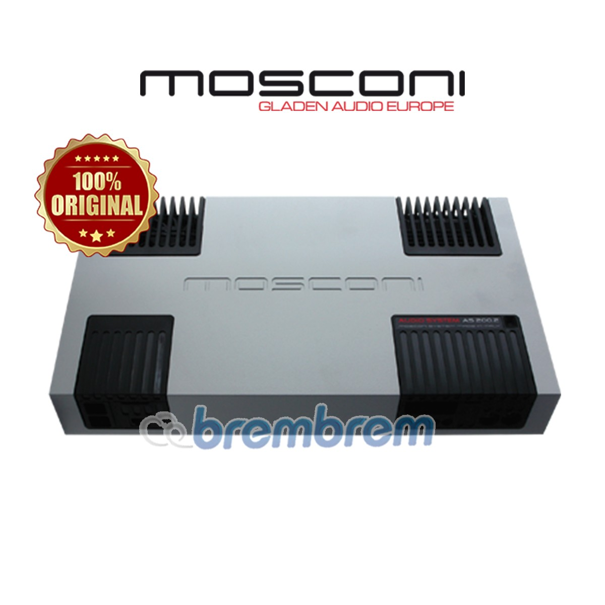 MOSCONI AS 200.2 - POWER 2 CHANNEL