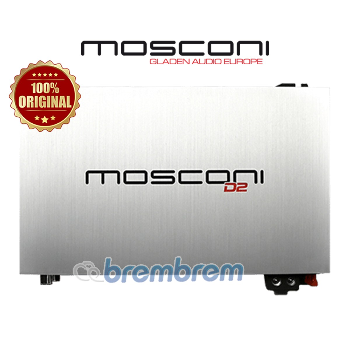 MOSCONI D2 150.2 - POWER 2 CHANNEL