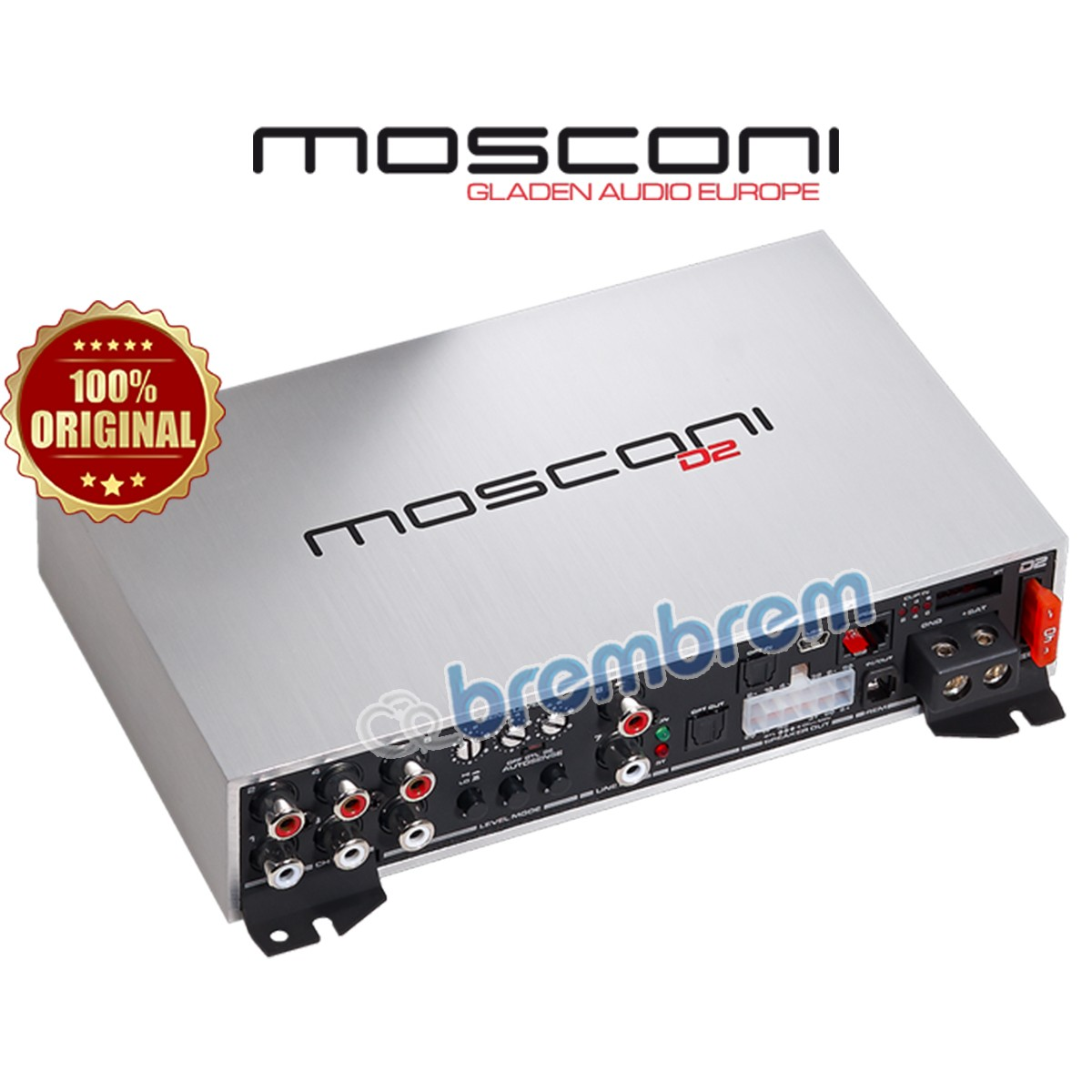 MOSCONI D2 80.6 DSP - POWER 6 CHANNEL