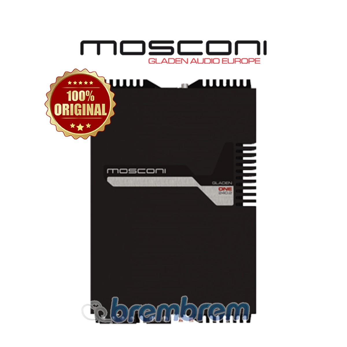 MOSCONI ONE 240.2 - POWER 2 CHANNEL