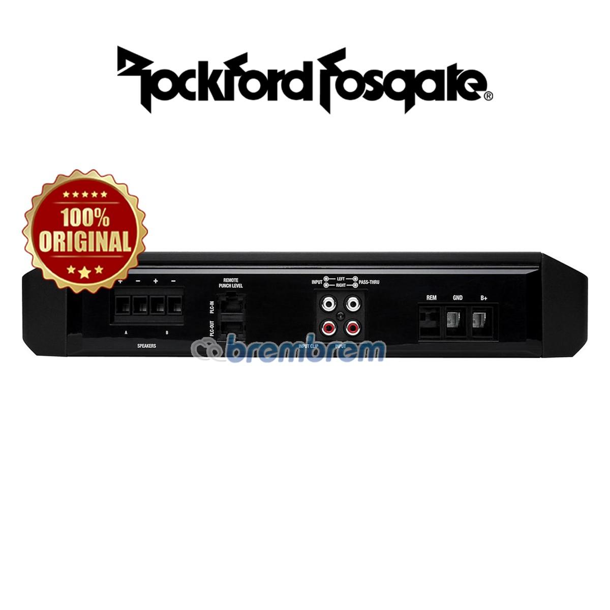 ROCKFORD FOSGATE P1000X1BD - POWER MONOBLOCK