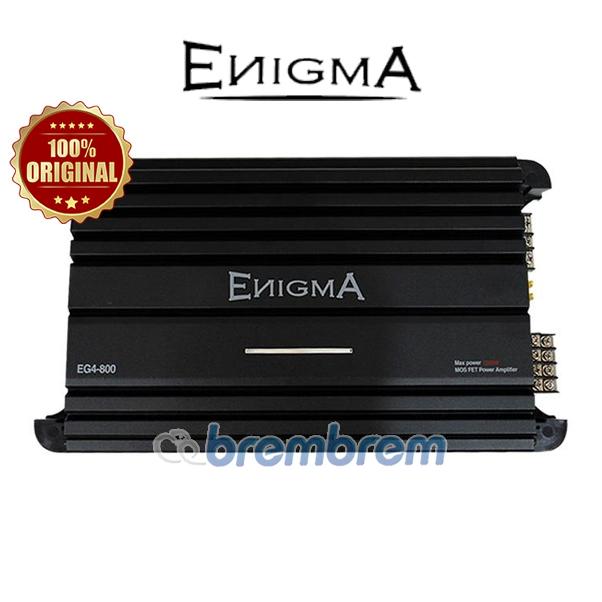 ENIGMA EG4 800 - POWER 4 CHANNEL