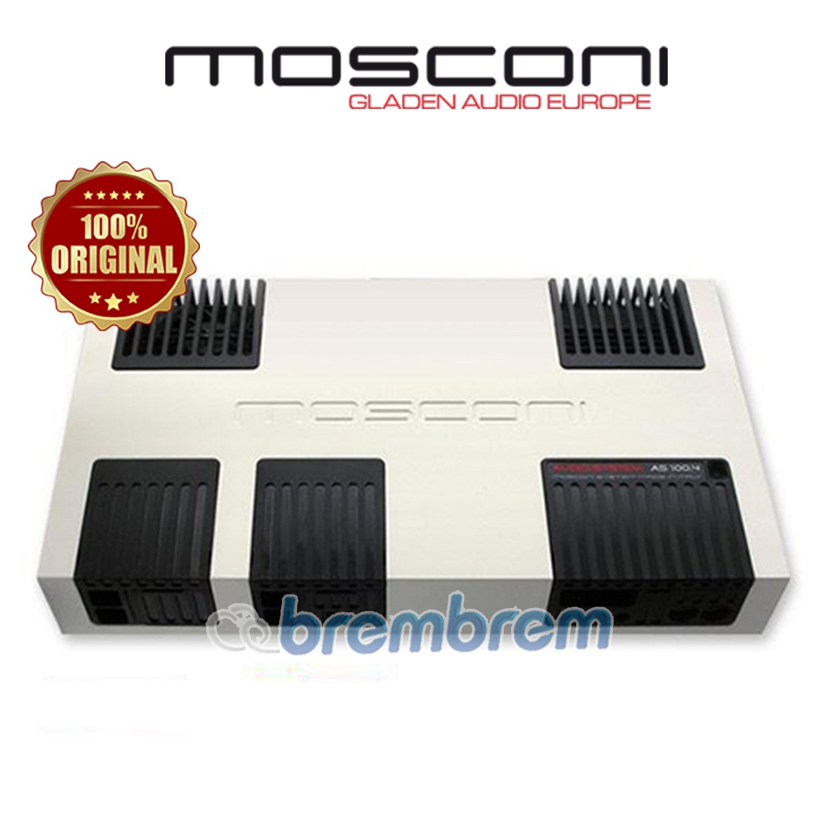 MOSCONI AS 100.4 - POWER 4 CHANNEL