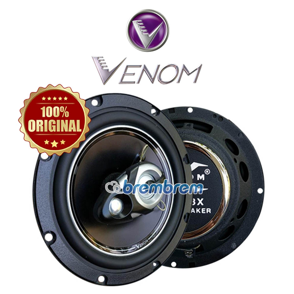 NEW VENOM X SERIES VX 603X - SPEAKER COAXIAL