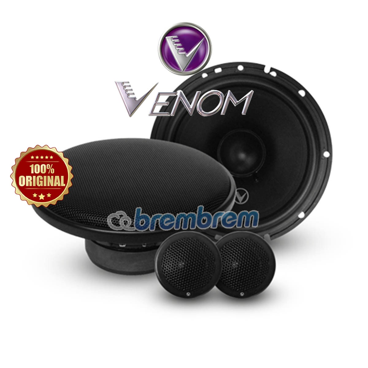 VENOM INTELLEGENT SERIES VI6.4 (NEW) - SPEAKER 2 WAY