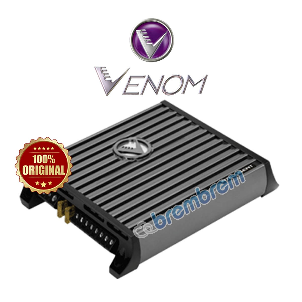 VENOM INTELLEGENT SERIES VI100.4D - POWER 4 CHANNEL
