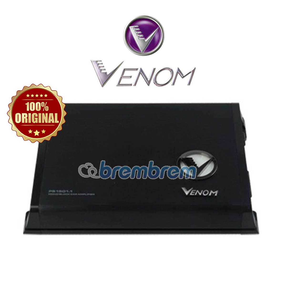 VENOM PURPLE STROM SERIES PS 1501.1 - POWER MONOBLOCK