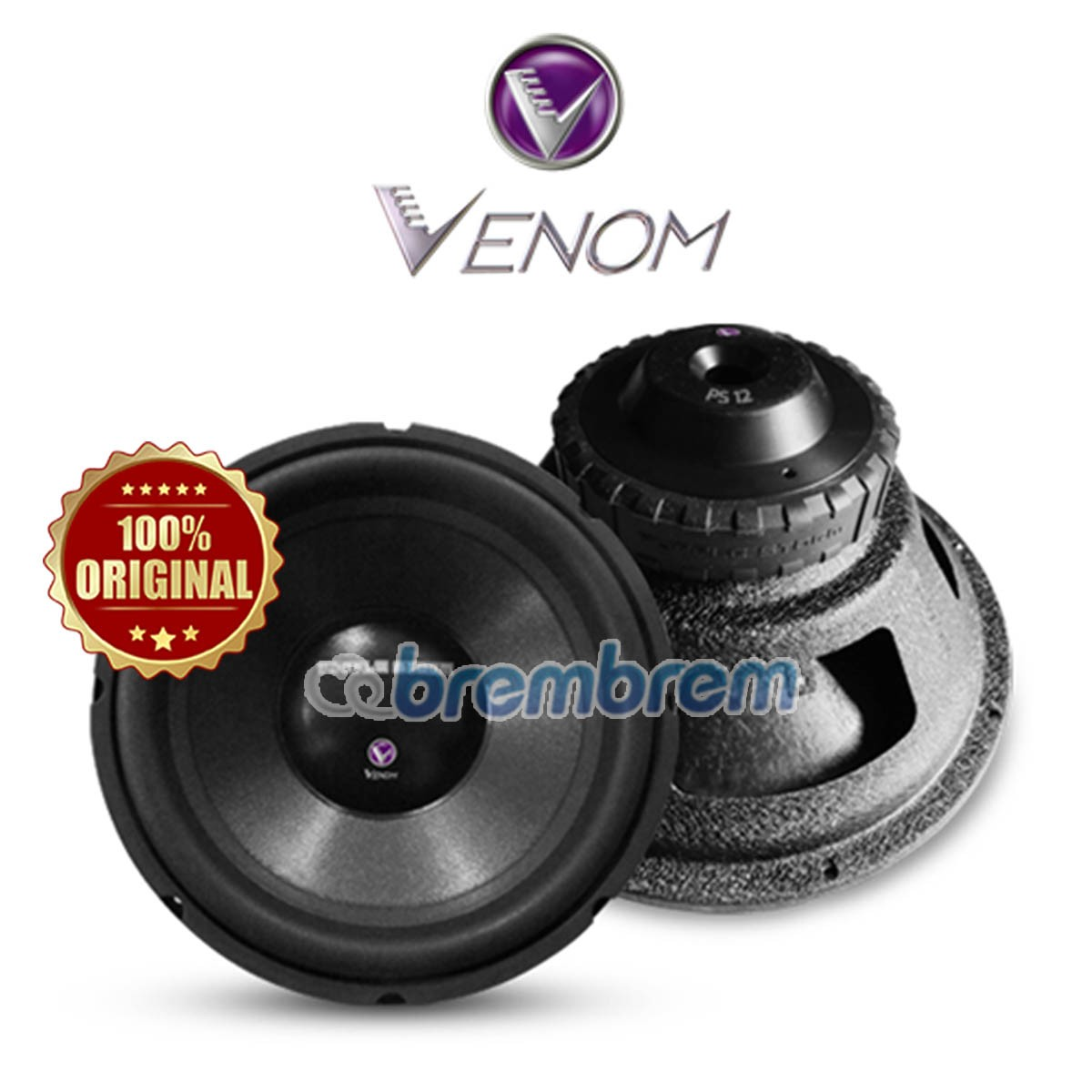 VENOM PURPLE STROM SERIES PS 12 - SUBWOOFER PASIF