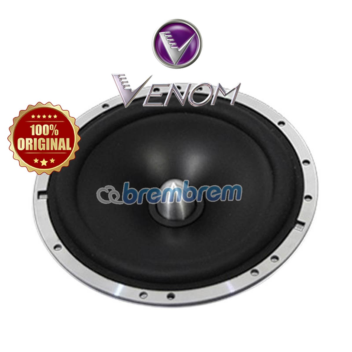 VENOM PURPLE STROM SERIES PS 6 - SPEAKER 2 WAY