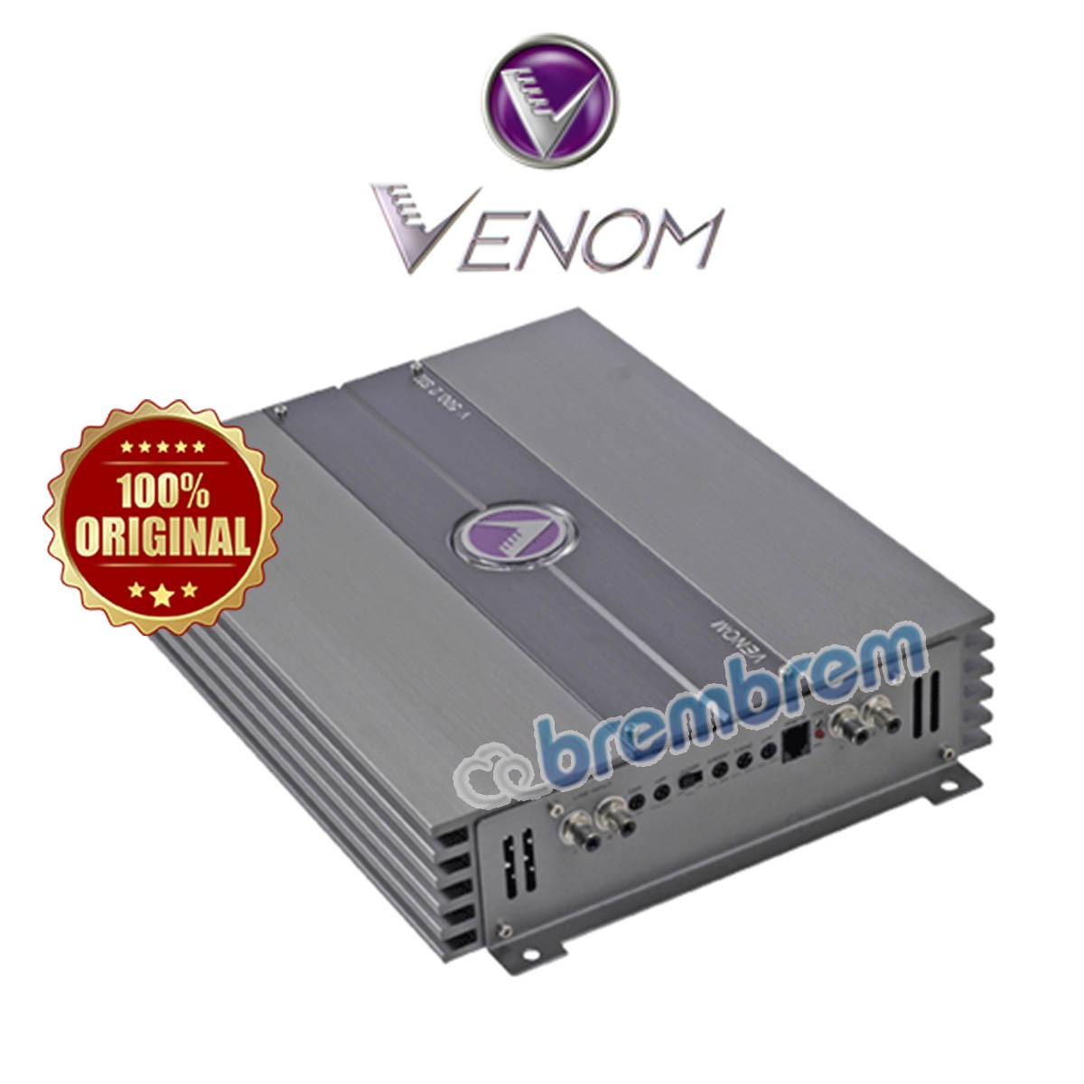 VENOM SILVER SERIES V500.2SII - POWER 2 CHANNEL