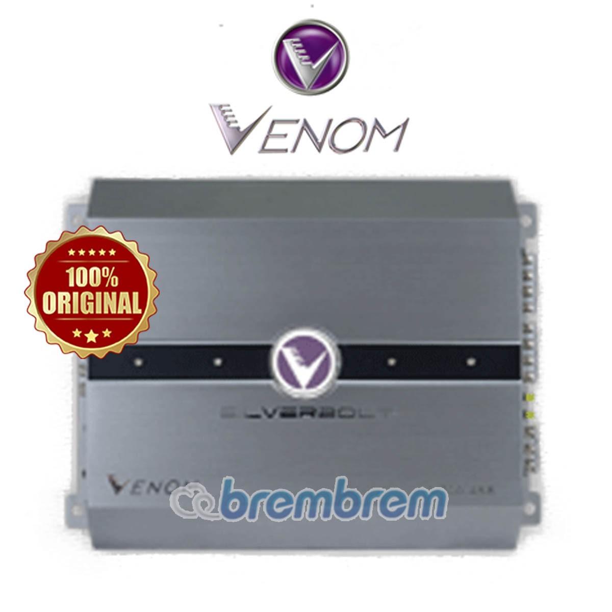 VENOM SILVER SERIES V710.4SB - POWER 4 CHANNEL