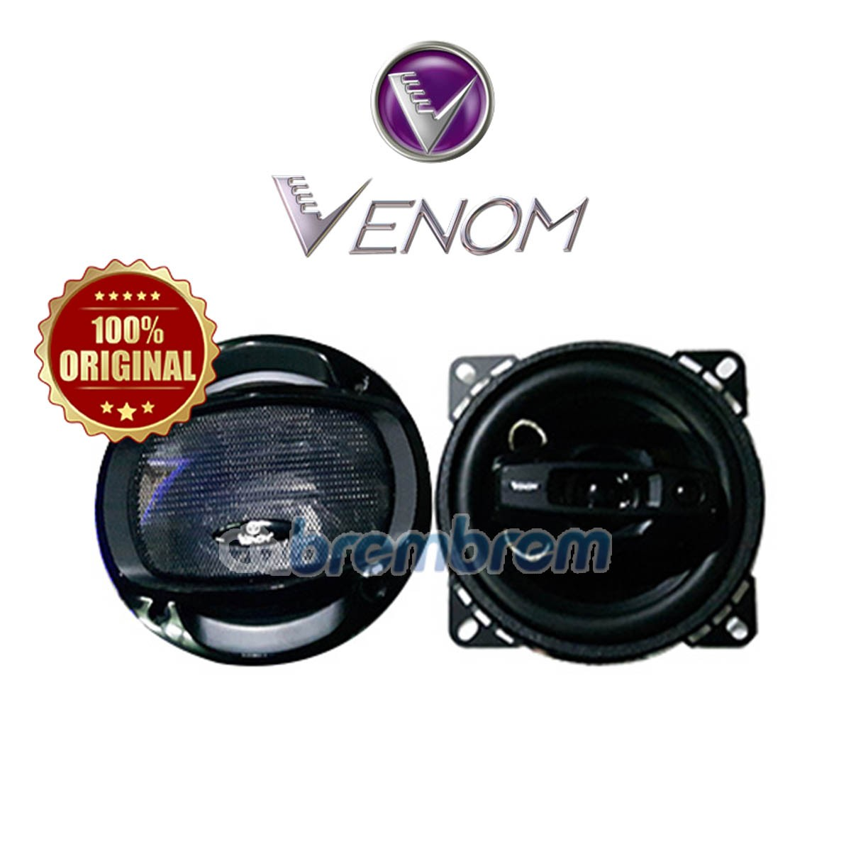 VENOM TURBO SERIES VX403TO - SPEAKER COAXIAL