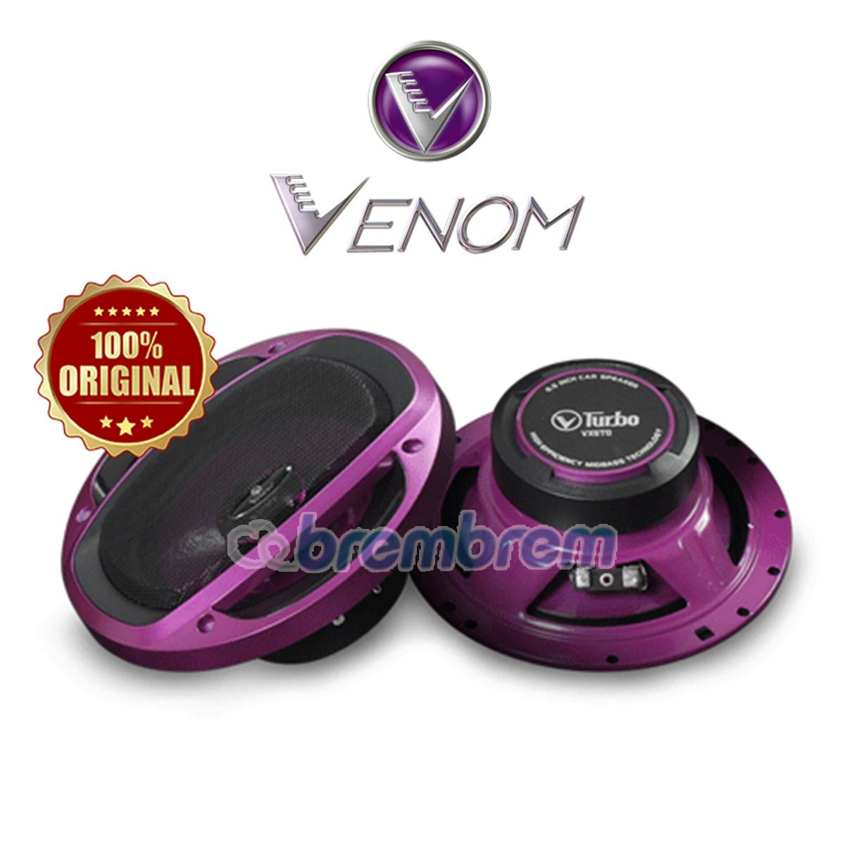 VENOM TURBO SERIES VX603TO - SPEAKER COAXIAL