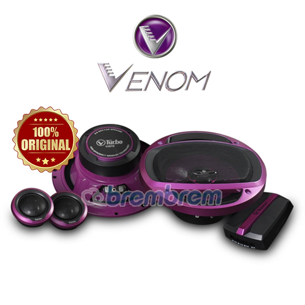 VENOM TURBO SERIES VX6TO - SPEAKER 2 WAY
