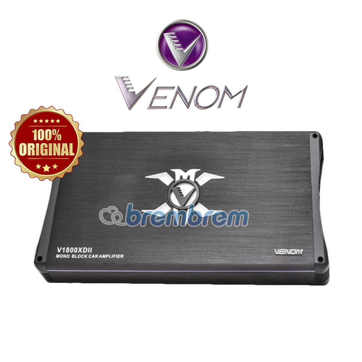 NEW VENOM X SERIES V1800XDII - POWER MONOBLOCK