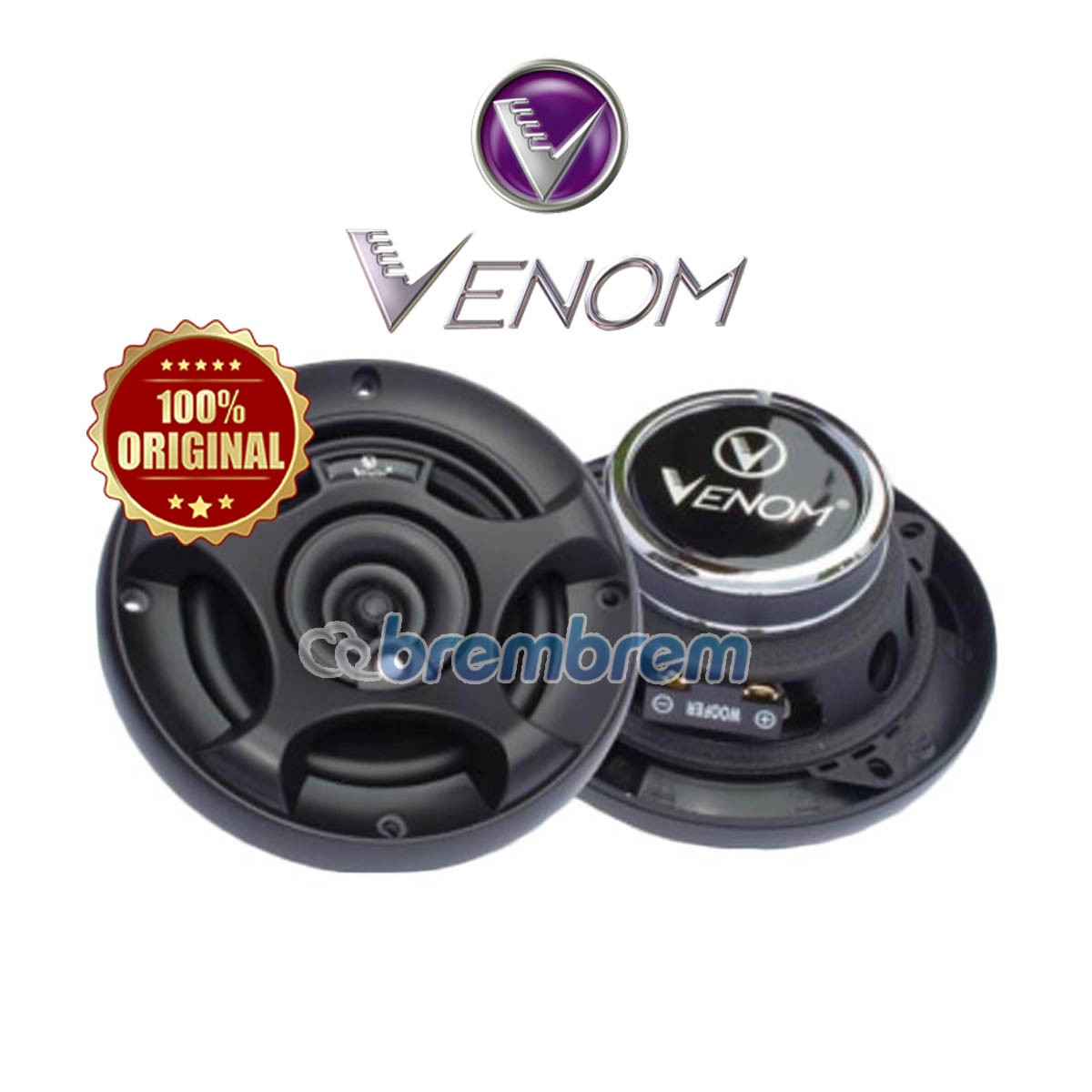 NEW VENOM X SERIES VX 402B - SPEAKER COAXIAL