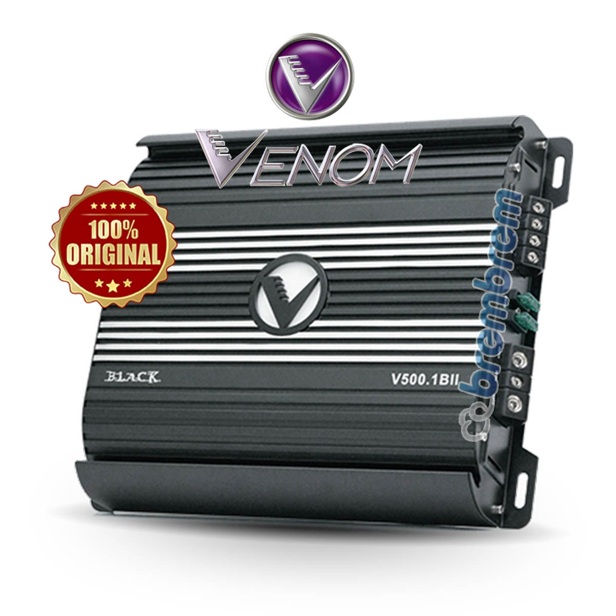 VENOM BLACK SERIES V500.1BII - POWER MONOBLOCK
