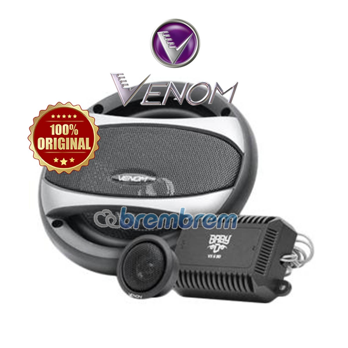 VENOM DIABLO SERIES VX6BD - SPEAKER 2 WAY
