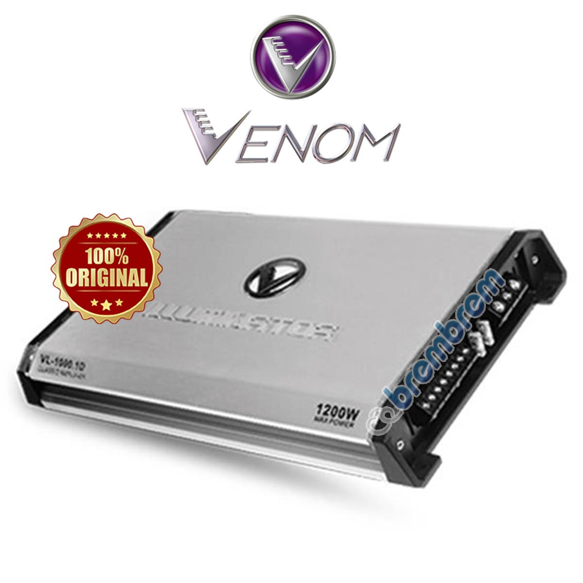 VENOM ILLUMINATOR SERIES VL1000.1D - POWER MONOBLOCK
