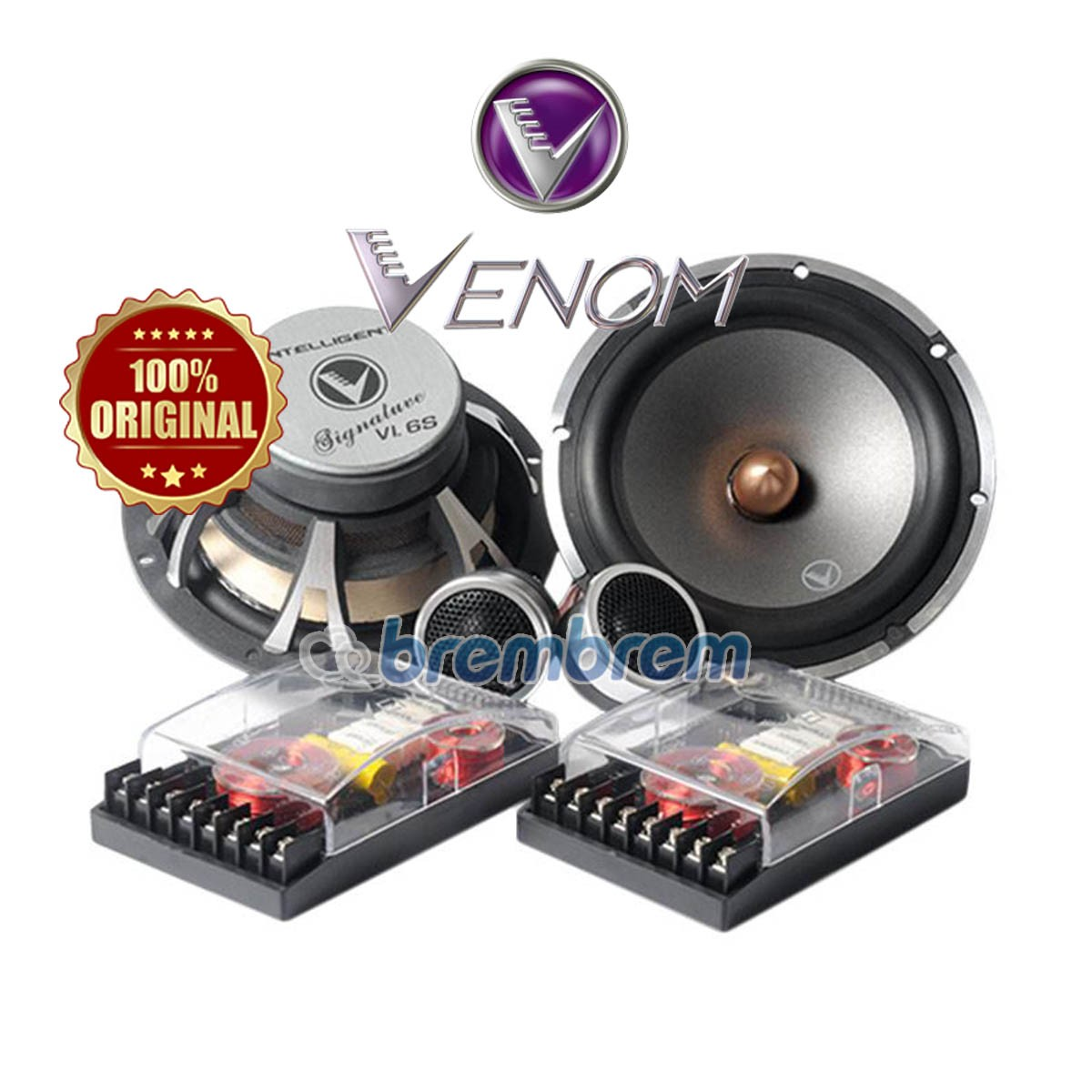 VENOM INTELLEGENT SERIES VI6S - SPEAKER 2 WAY