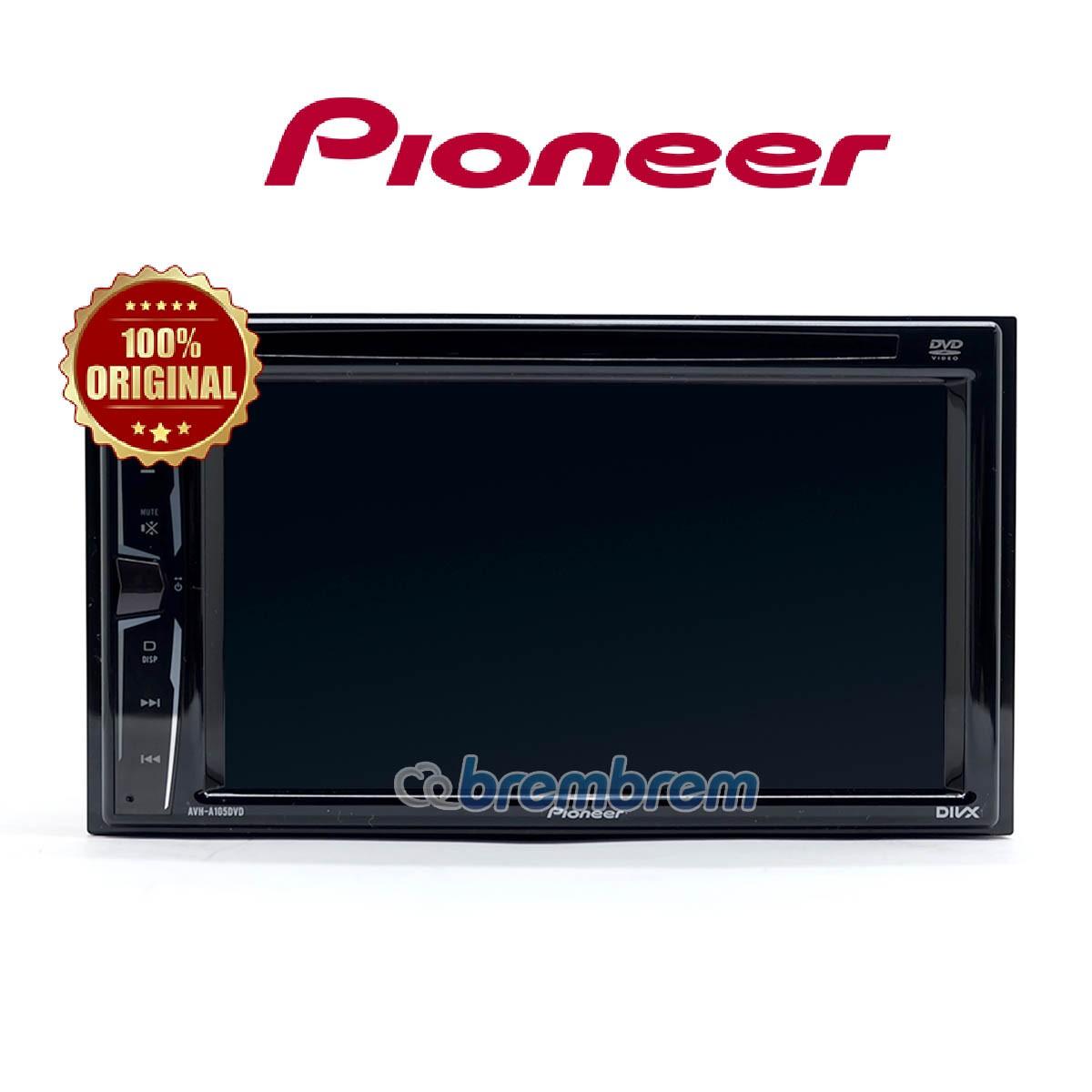 PIONEER AVH-A105DVD - HEADUNIT DOUBLE DIN