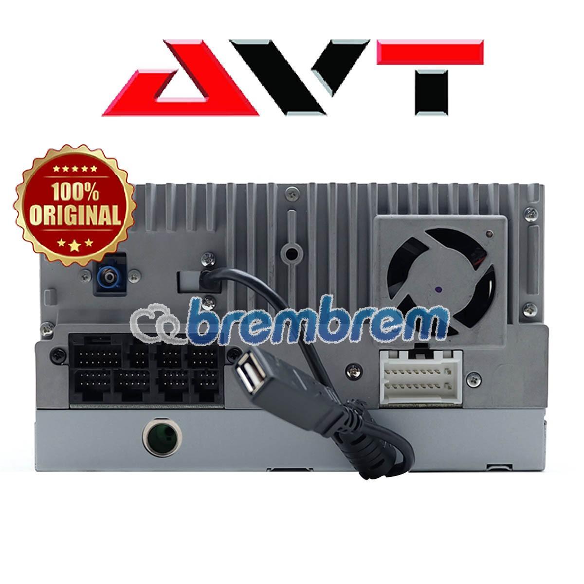AVT DAV 6309 - HEADUNIT DOUBLE DIN