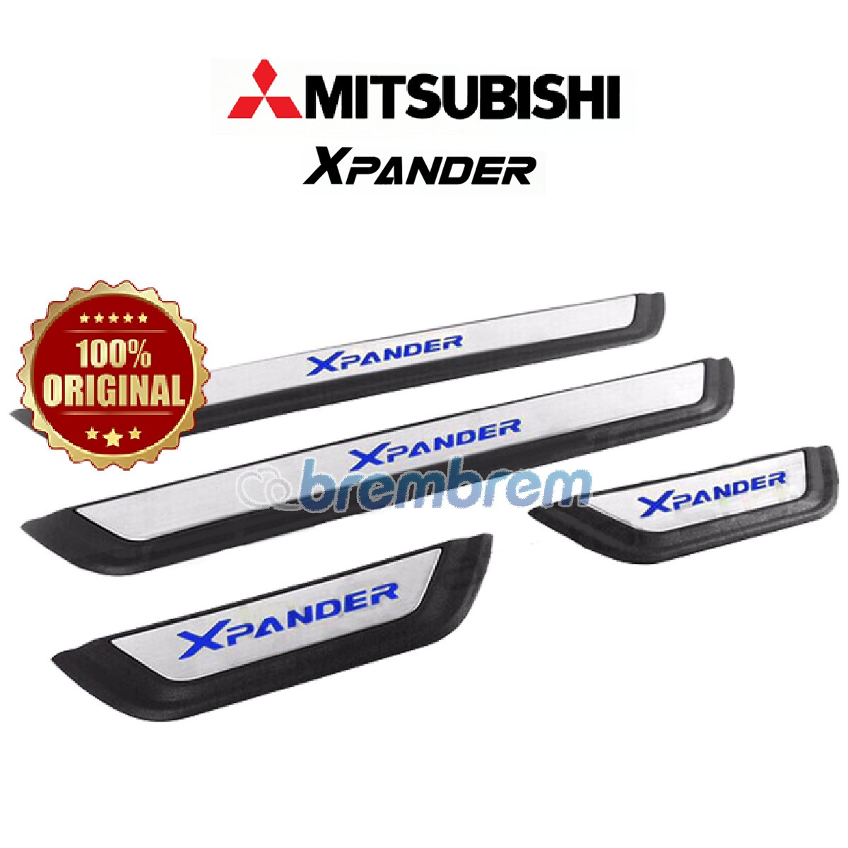 SILLPLATE MITSUBISHI XPANDER WITH LED LAMP