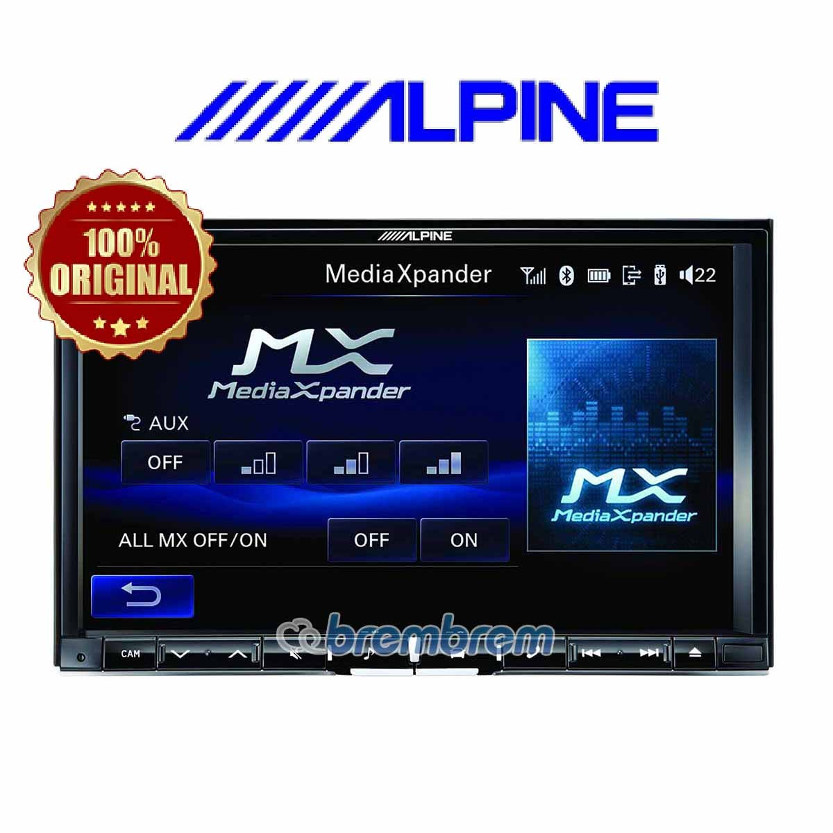 ALPINE 108ED - HEADUNIT DOUBLE DIN