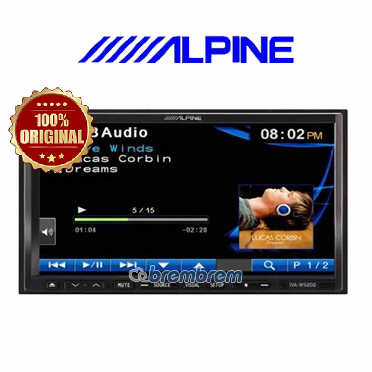 ALPINE IVA-W520 E - HEADUNIT DOUBLE DIN
