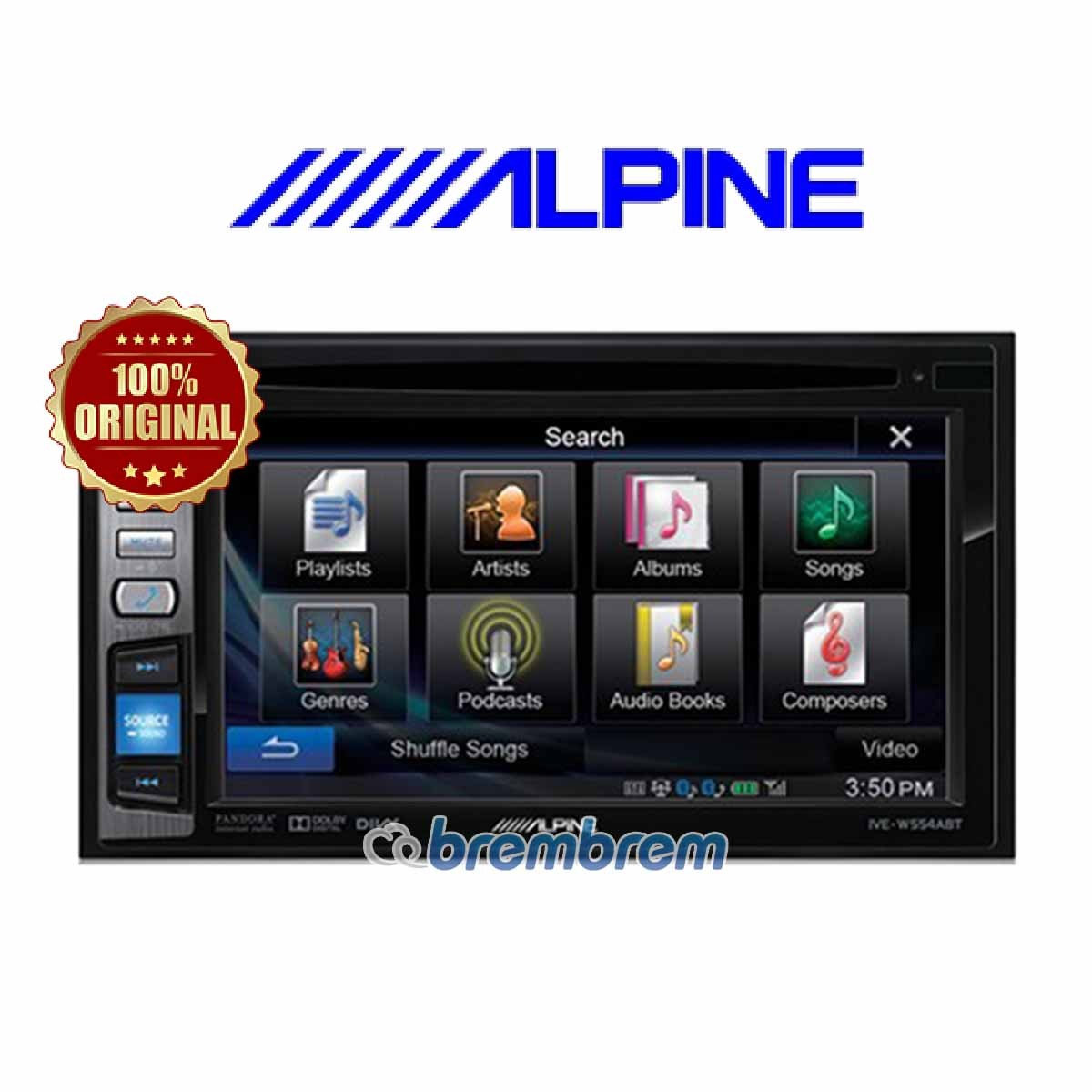 ALPINE IVE W554 EBT - HEADUNIT DOUBLE DIN