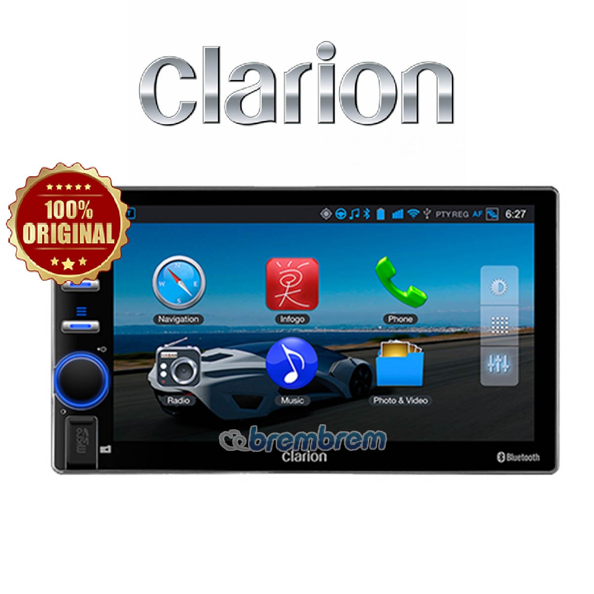 CLARION AX1 - HEAD UNIT DOUBLE DIN
