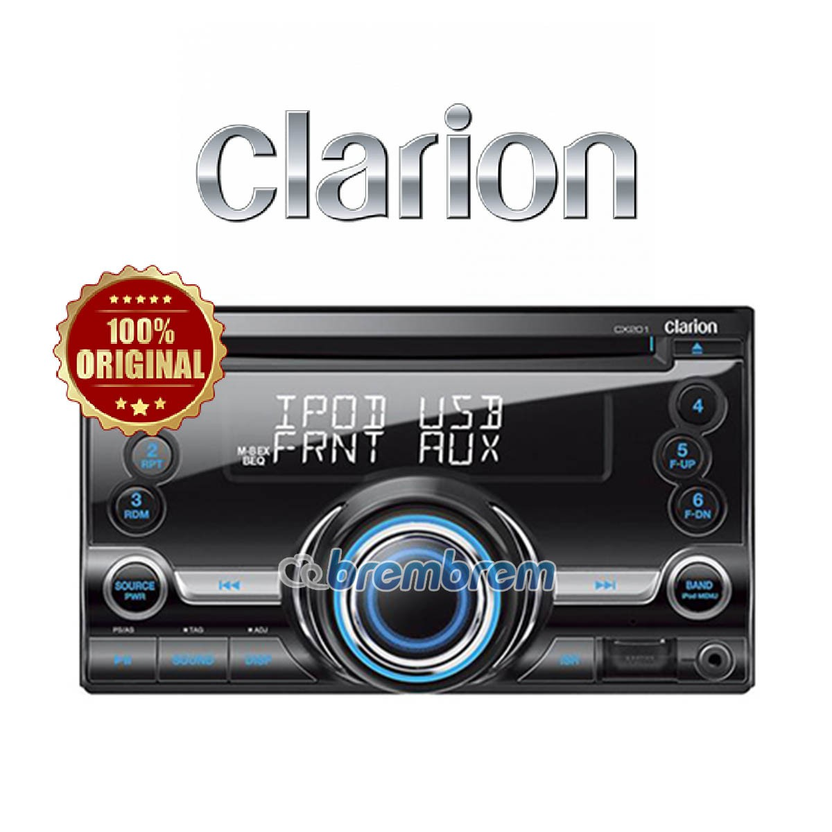 CLARION CX 201 A - HEAD UNIT DOUBLE DIN