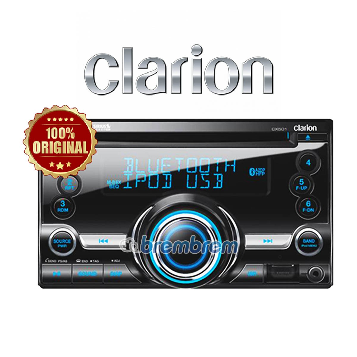 CLARION CX 501 A - HEAD UNIT DOUBLE DIN