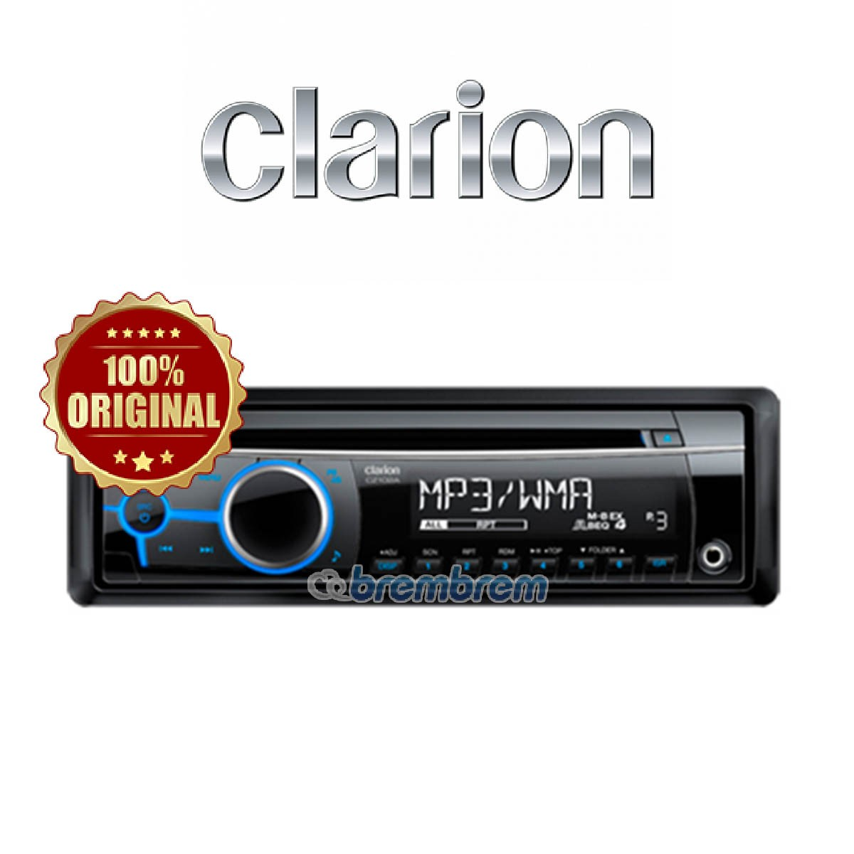 CLARION CZ 102 A - HEAD UNIT SINGLE DIN