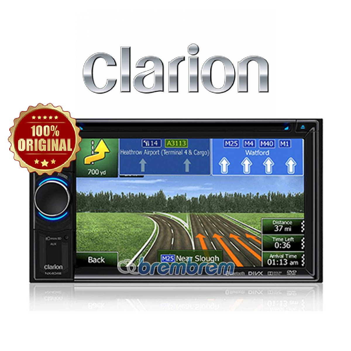 CLARION NX 403 A (GPS NAVIGASI) - HEAD UNIT DOUBLE DIN